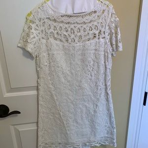 White lace Lilly Pulitzer Dress